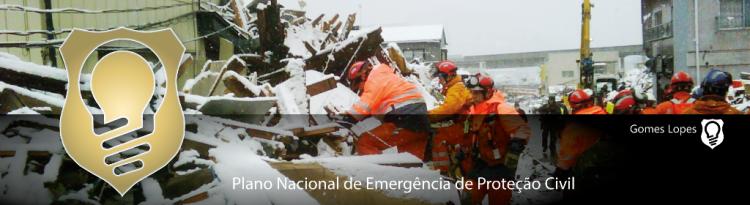 Plano Nacional de Emergência de Proteção Civil