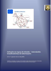 Intercâmbio transfronteiriço de informações relacionadas com a prática de infrações rodoviárias